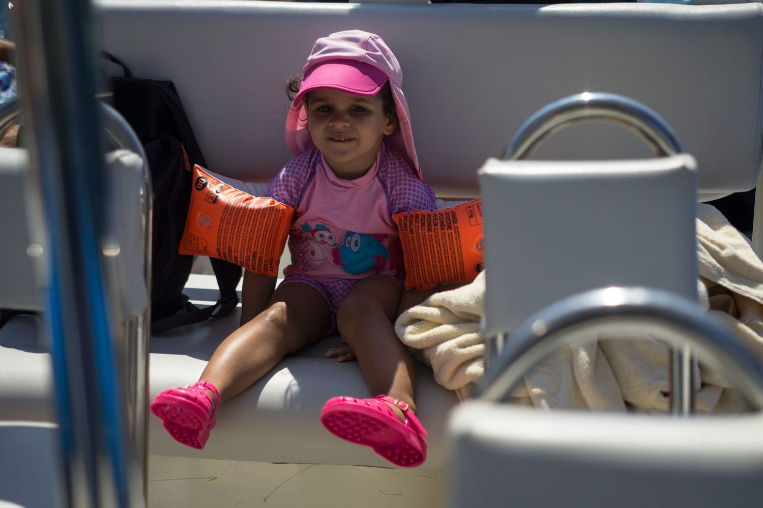 Archipelago Tours - Krka Experience Private Tour photo of a child on the boat