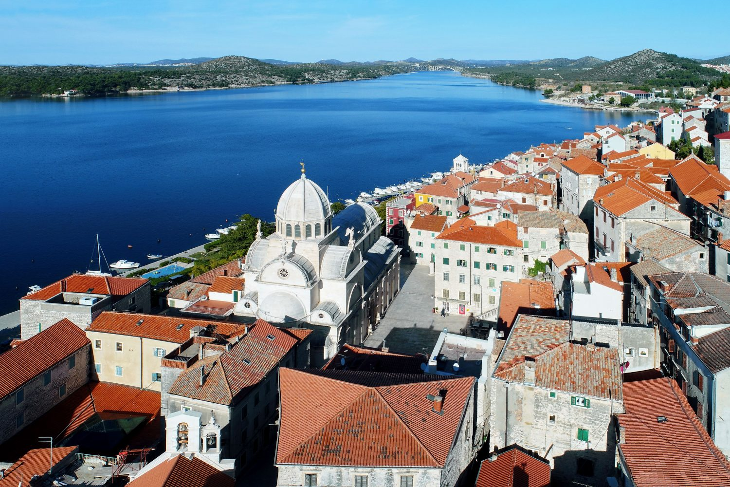 Archipelago Tours - Krka Experience Private Tour photo of Sibenik taken from the air