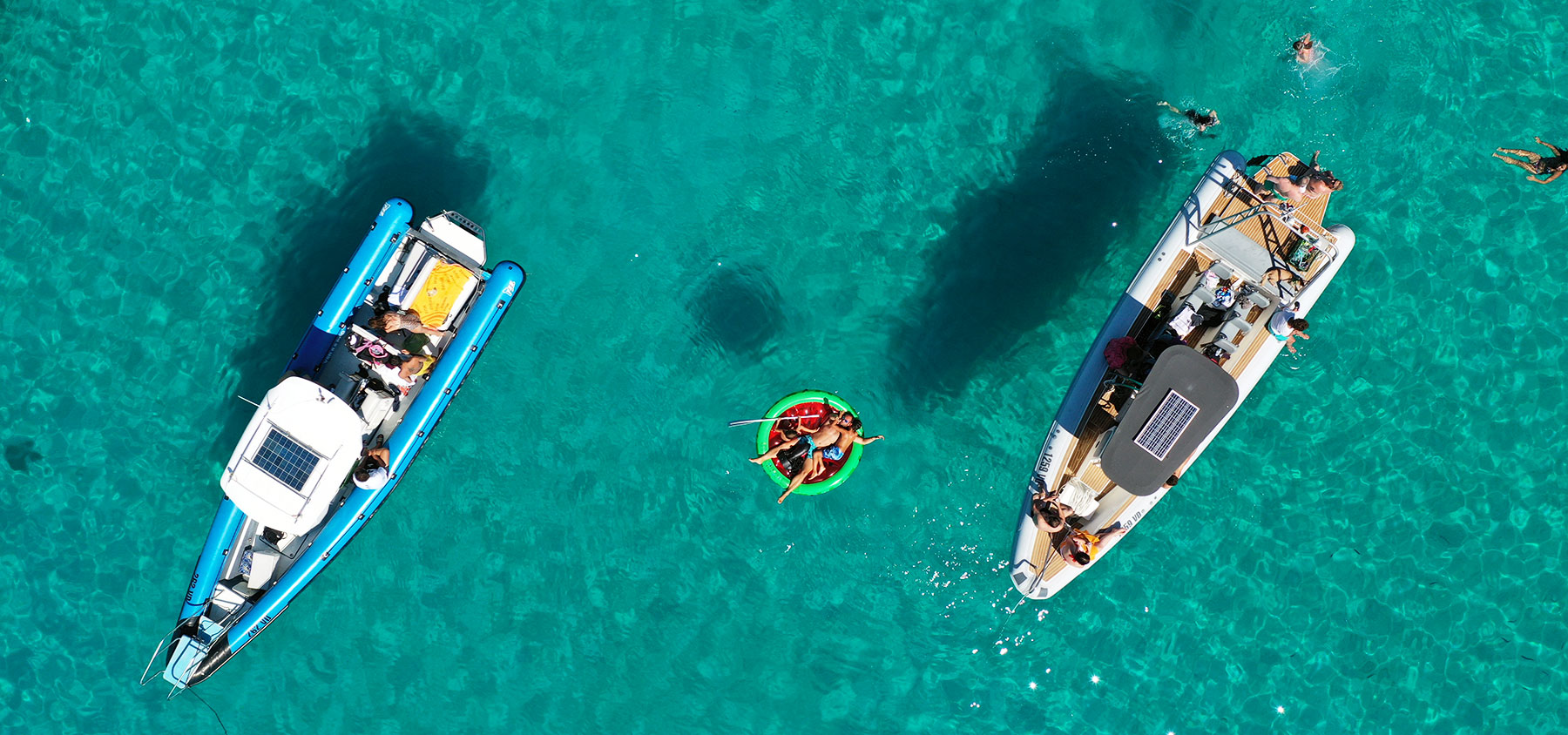Archipelago Tours Passion driven boat tours Croatia Sibenik - photo of the boat from the air