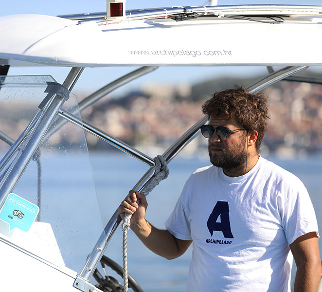 Archipelago Tours Speedboat tours from Sibenik - About us photo of the skipper/guide
