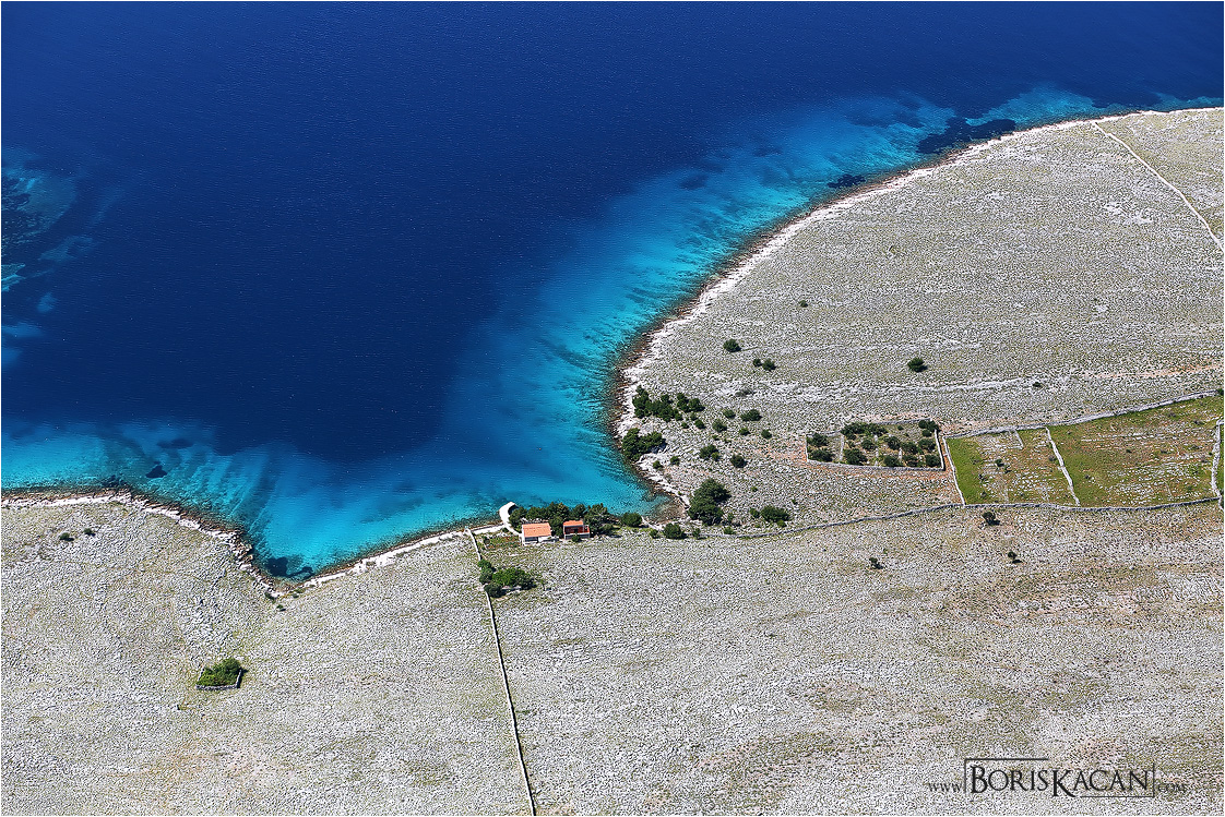 Texture and colors of Kornati
