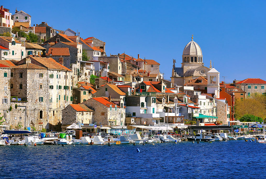Dolac, the most charming part of Sibenik