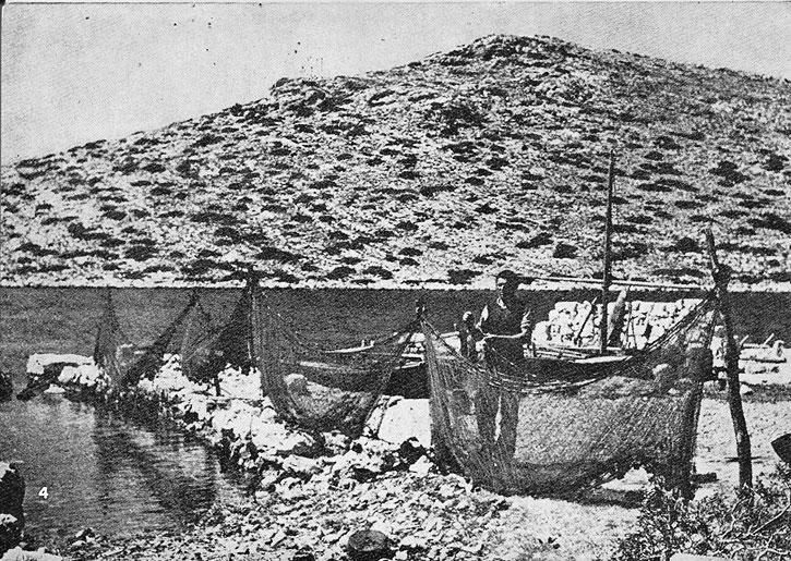 Kornati in black-and-white